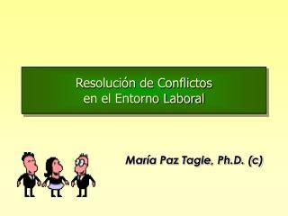 Resolución de Conflictos en el Entorno Laboral