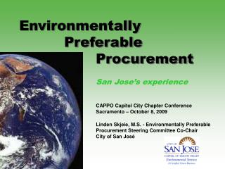 Environmentally  		Preferable  			  Procurement