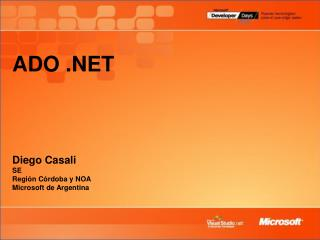 ADO      Diego Casali SE Regi n C rdoba y NOA Microsoft de Argentina