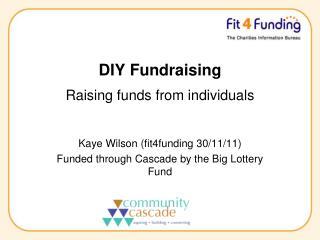 DIY Fundraising