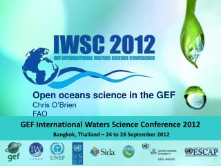 GEF International Waters Science Conference 2012