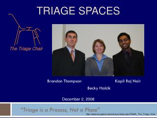 TRIAGE SPACES