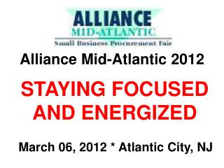 Alliance Mid-Atlantic 2012