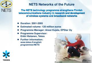 NETS Networks of the Future