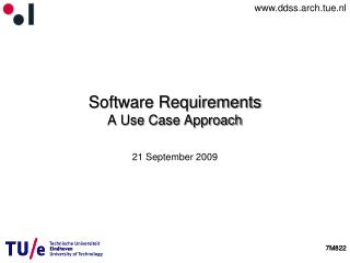 Software Requirements A Use Case Approach