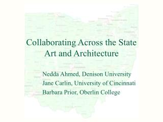 Collaborating Across the State Art and Architecture