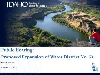 Water District Expansion Upper Boise River Basin