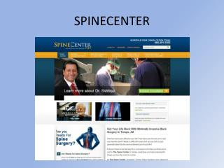 Arizona Surgical Specialists Center - Spine Surgeon
