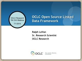 OCLC Open Source Linked Data Framework