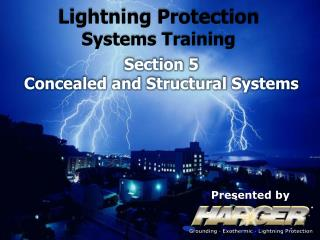 Lightning Protection  Systems Training