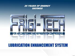 25 YEARS OF ENERGY SAVINGS