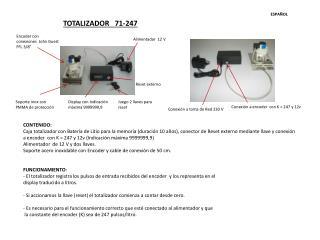 TOTALIZADOR    71-247