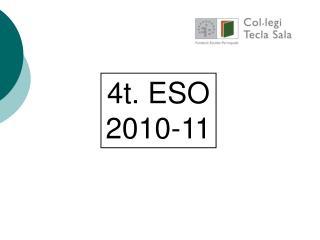 4t. ESO 2010-11