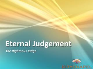 Eternal Judgement