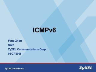 ICMPv6
