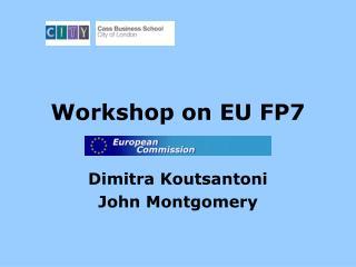 Workshop on EU FP7