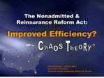 The Nonadmitted  Reinsurance Reform Act: