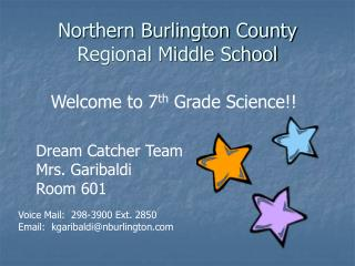 Northern Burlington County Regional Middle School