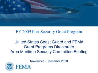 FY 2009 Port Security Grant Program