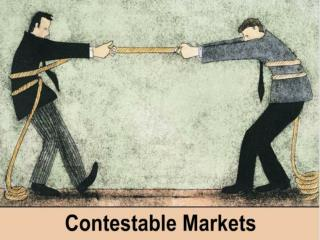 In a contestable market there are no structural barriers to the entry of firms in the long-run.
