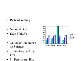 Richard Willing National Desk USA TODAY National Conference on Science, Technology and the Law St. Petersburg, Fla. Sep