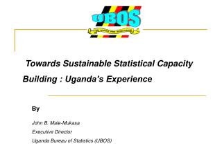 Towards Sustainable Statistical Capacity Building : Uganda's Experience