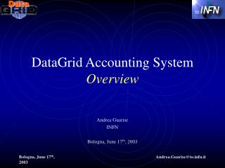 DataGrid Accounting System Overview