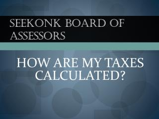 Seekonk Board of Assessors