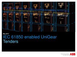 IEC 61850 enabled  UniGear