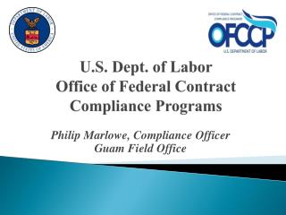 U.S. Dept. of Labor  Office of Federal Contract Compliance Programs