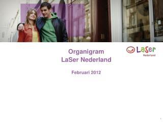 Organigram LaSer Nederland  Februari 2012