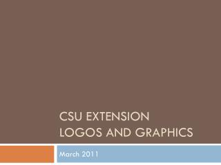 CSU Extension Logos and Graphics