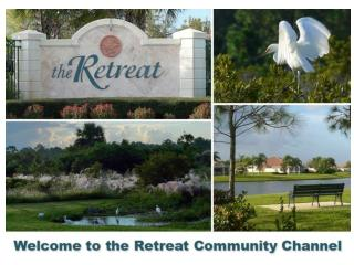 The Retreat  website www.retreatatseabranch.com