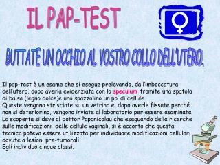 IL PAP-TEST