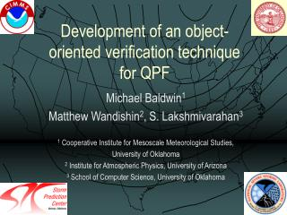 Development of an object-oriented verification technique for QPF