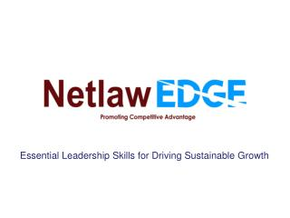 Essential Leadership Skills for Driving Sustainable Growth