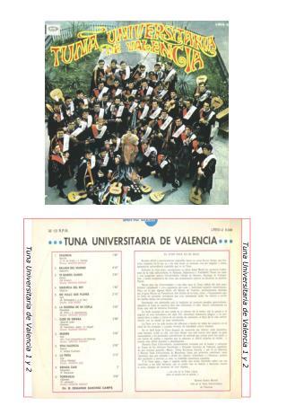 Tuna Universitaria de Valencia 1 y 2
