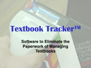 Textbook Tracker TM