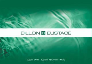DUBLIN   CORK    BOSTON   NEW YORK   TOKYO