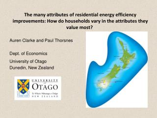 The many attributes of residential energy efficiency improvements: How do households vary in the attributes they value