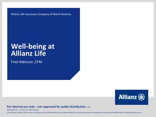Well-being at Allianz Life