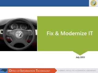 Fix & Modernize IT