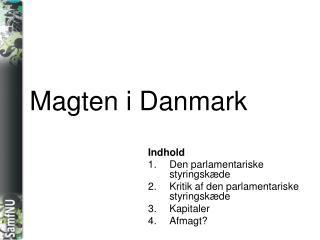 Magten i Danmark