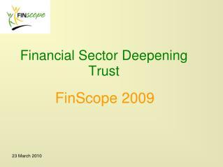 Financial Sector Deepening Trust