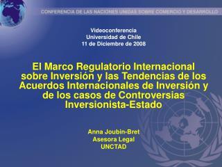 Videoconferencia Universidad de Chile 11 de Diciembre de 2008