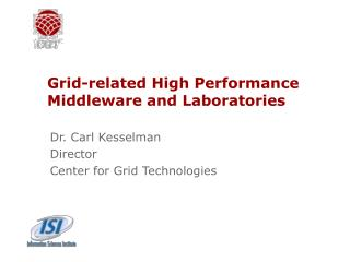 Grid-related High Performance Middleware and Laboratories