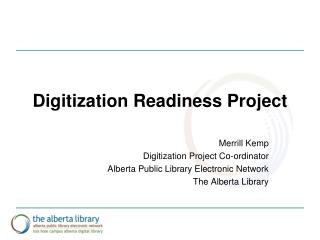 Digitization Readiness Project