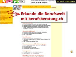 Erkunde die Berufswelt mit berufsberatung.ch