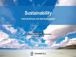 Sustainability Internal Drivers and Self-Assessment