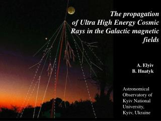 The propagation of Ultra High Energy Cosmic Rays in the ...